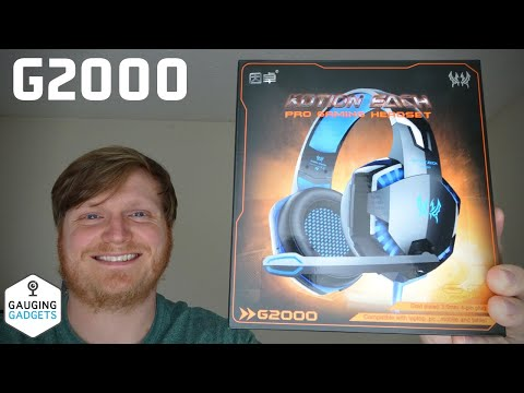 Kotion Each G2000 Gaming Headset Review - Over Ear LED G2000 Gaming Headphones