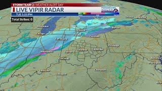 NBC4 at 6pm: Snow inbound tonight, bitter wind \u0026 cold temps to follow