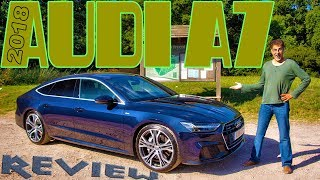 2018 Audi A7 55 TFSI Review - the one with Knight Rider Taillights!