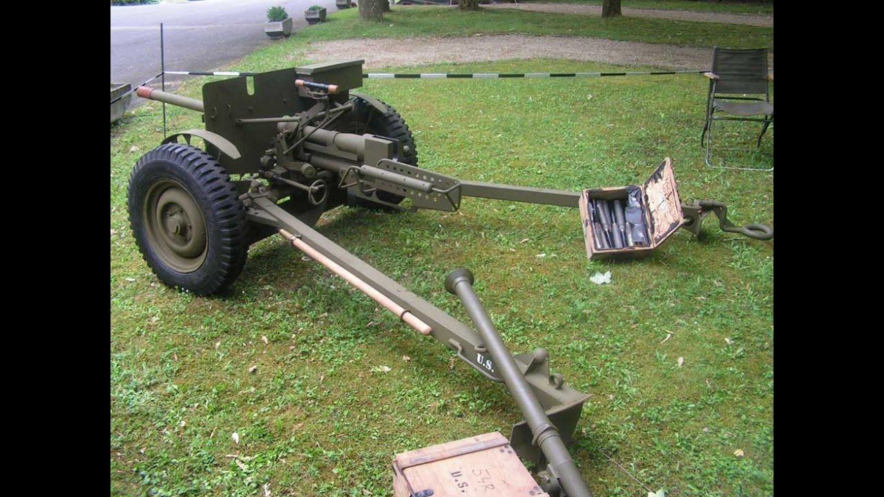German 50 Mm Anti Tank Gun: 37mm M3 U S Anti-Tank Gun WWII