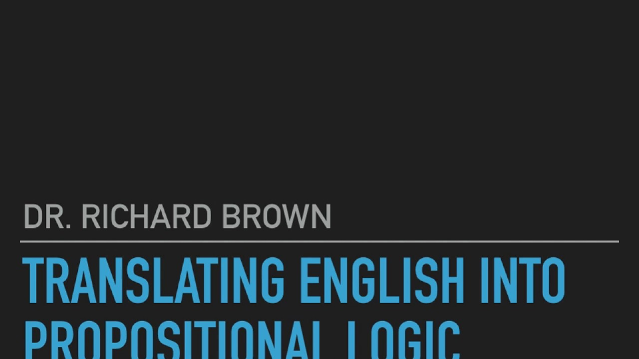 Logic and philosophy 31 translating english into propositional logic and philosophy 31 translating english into propositional logic biocorpaavc Image collections