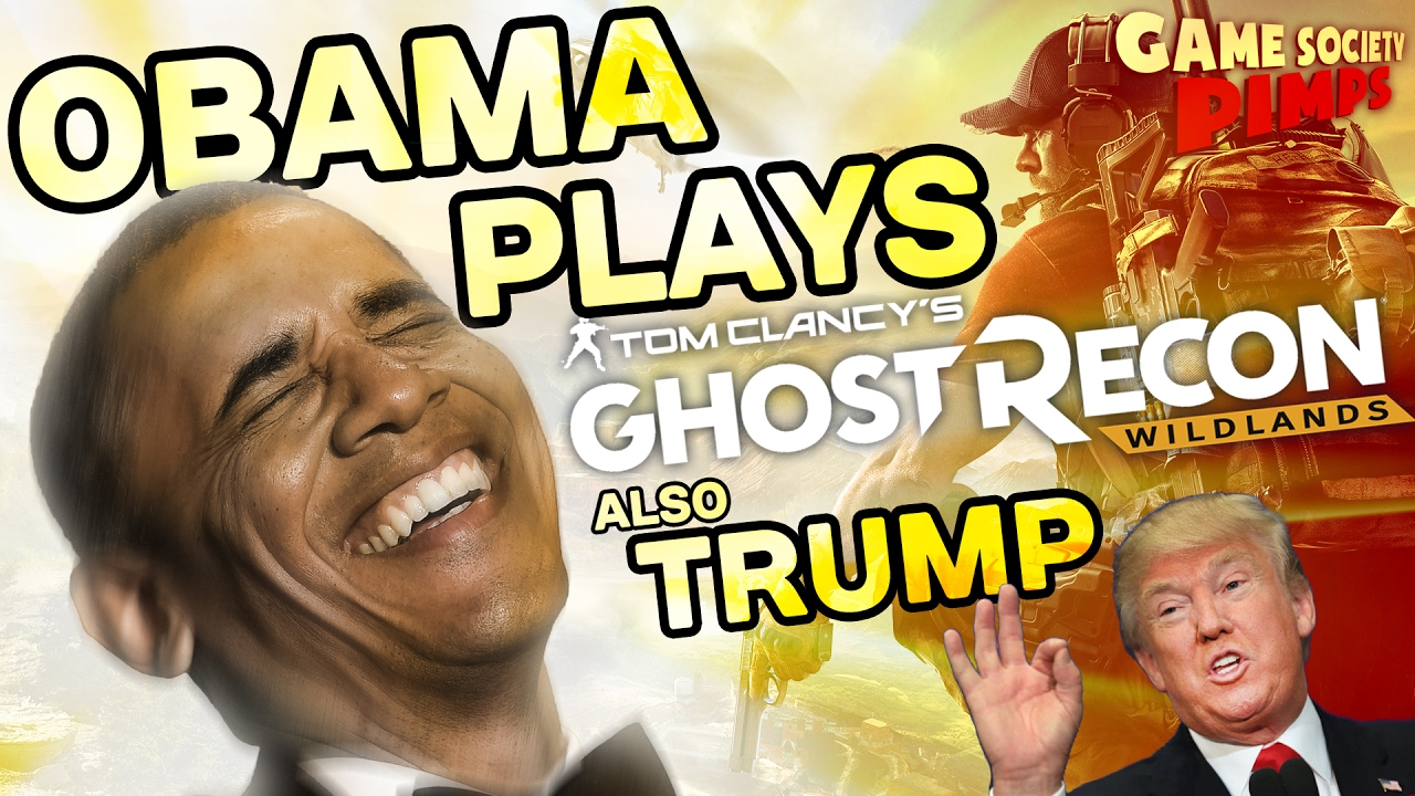 Early Access Ghost Recon Wildlands Trump Sends In Obama Game Loop Kartini Sony Playstation 4 Tom Clancys Society Youtube
