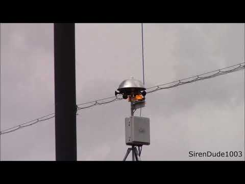 Thor-Guard Lightning Siren Activation - Villa Park, IL