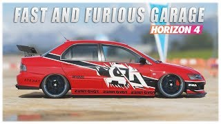 Forza Horizon 4 - Fast and Furious !! Garage
