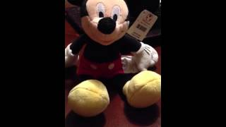 My Mickey voice for my voicemail
