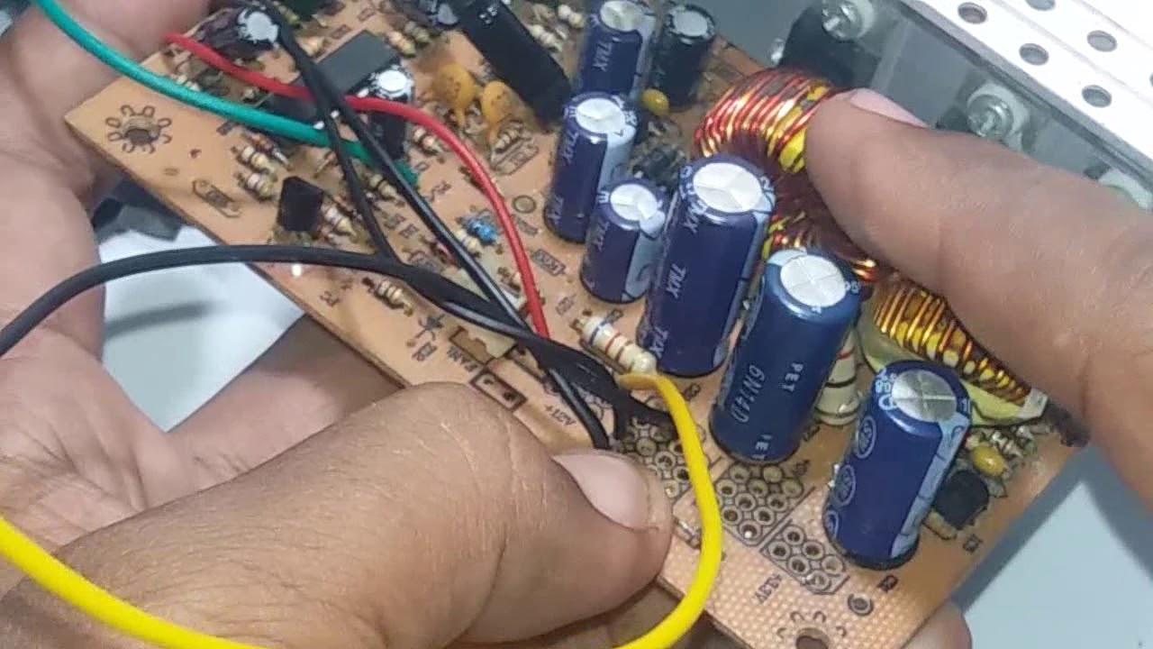 Cas Aki Dari Bekas Psu Komputer By Belajar Listrik Dan Elektronik Project Membuat Charger Otomatis Auto Cut Off Circuit