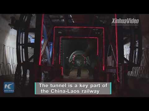 Progress in mega-railway project! Construction goes ahead on key tunnel of China-Laos railway