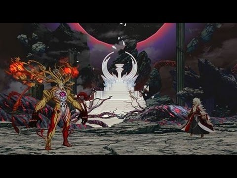 Fate/Grand order 冠位時間神殿 終局特異點 第十二節之二…… (敗場) - YouTube