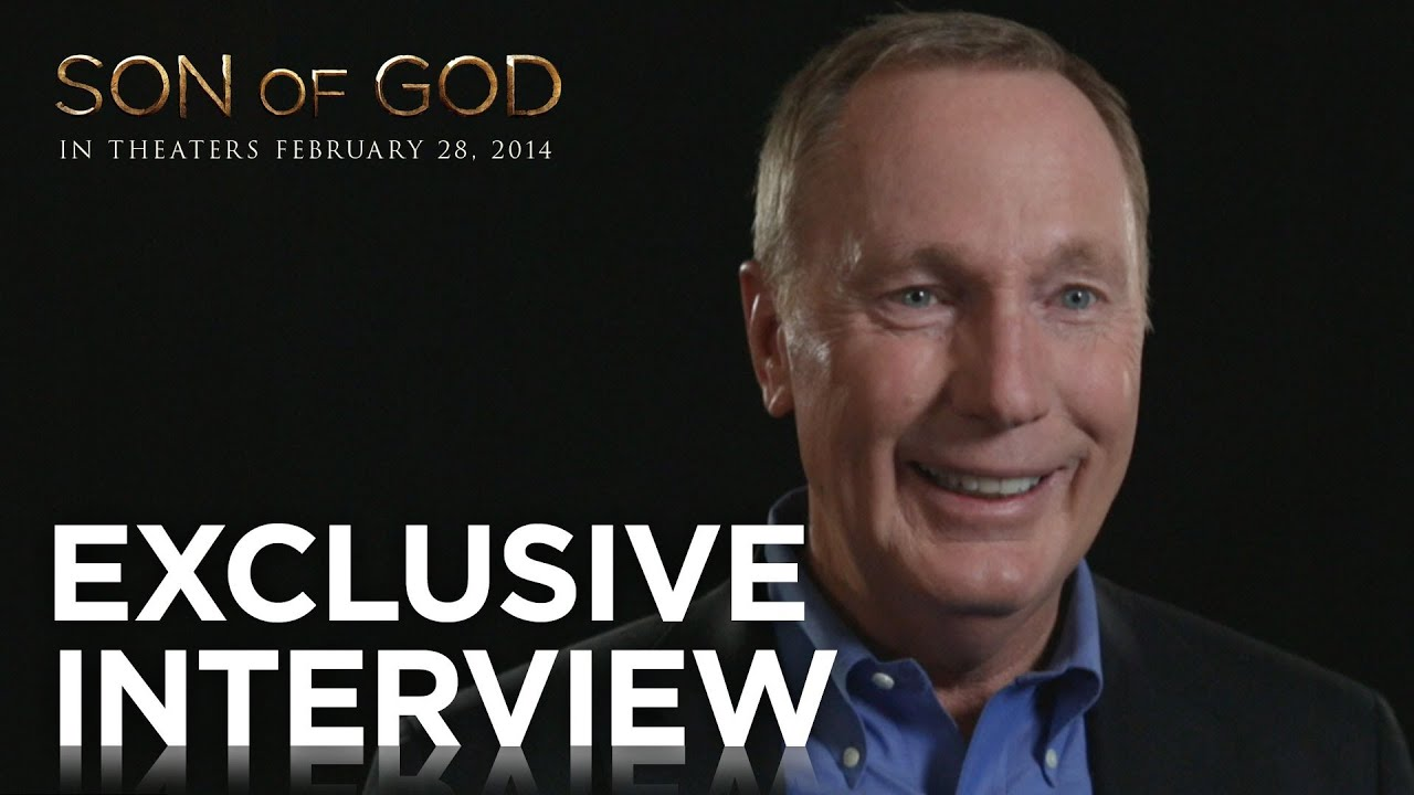 """Son of God   Max Lucado """"Peter Goes Fishing"""" Exclusive Interview   20th Century FOX"""