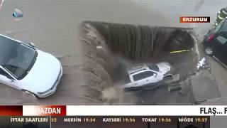 Çukur Aracı Böyle Yuttu! Erzurum