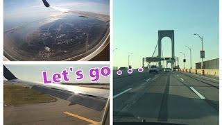 Die Abreise und Ankunft | New York Vlog