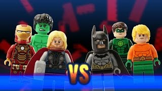 LEGO MARVEL vs DC