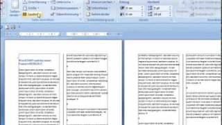Spaltensatz mit Word 2007 - Word 2007 Episode 62