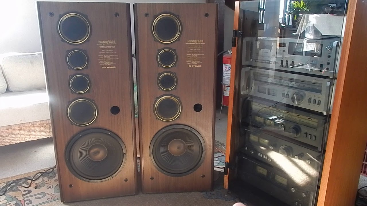 Cygnus Heavy 320  caixas acústica multi ampli [ demonstração ]