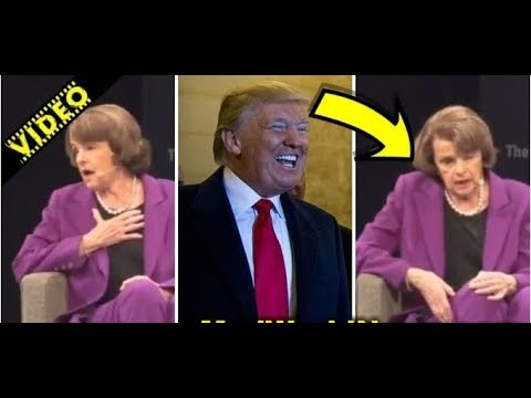 LIBERAL CROWD ERUPTS IN PANIC AFTER WHAT TRUMP HATER DIANNE FEINSTEIN LET SLIP!