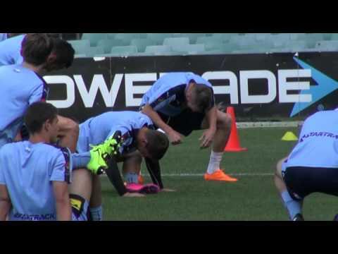 Shane Smeltz Pre City | Player Interviews | Sydney FC