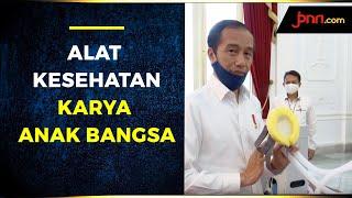 Jokowi Meluncurkan Alat Kesehatan Covid-19 Karya Anak Bangsa - JPNN.com