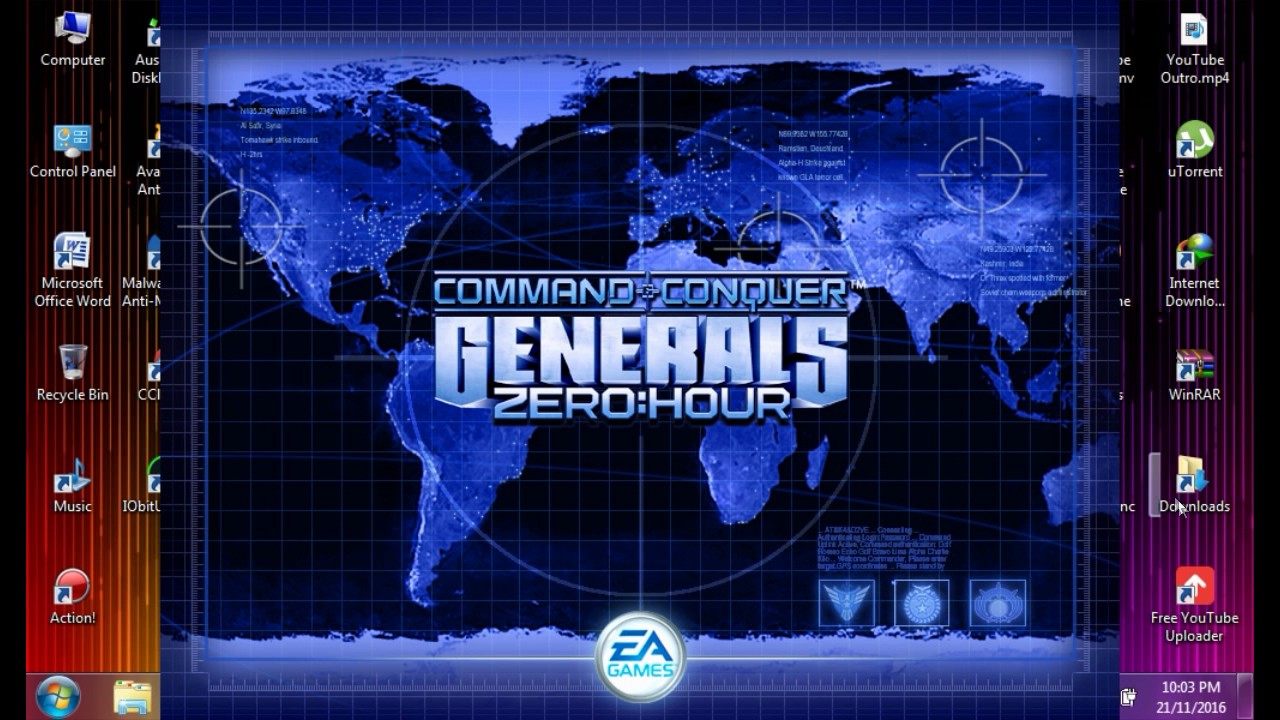 How to download c&c generals zero hour free for pc (simple) youtube.