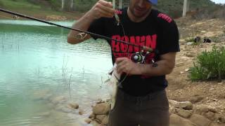 Видео отчет о рыбалке. Ловим басса