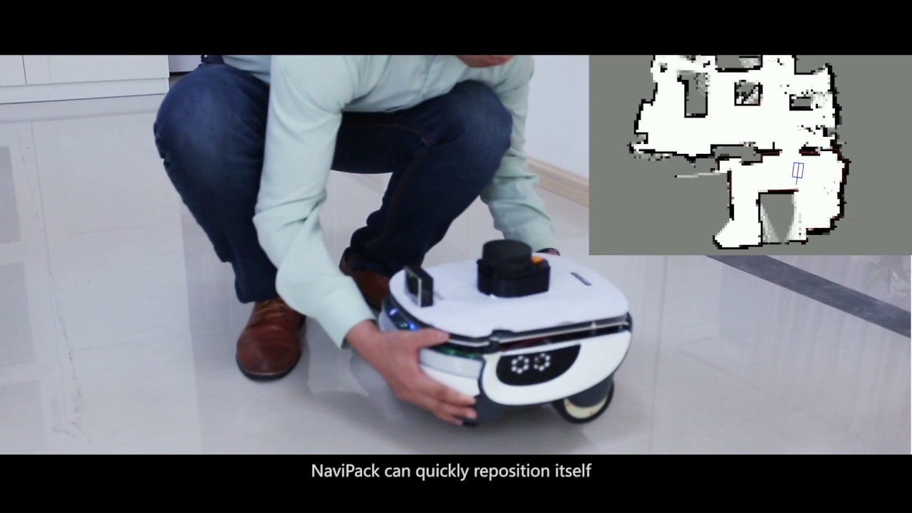 SLAM for the robot Navigation and Position by Inmotion