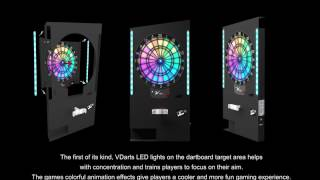 vdarts h2l wall shell introduction