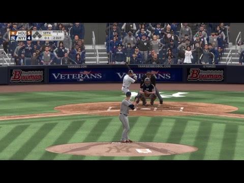 MLB The Show 17: Houston Astros vs. New York Yankees in Extra Innings (05/12/17)