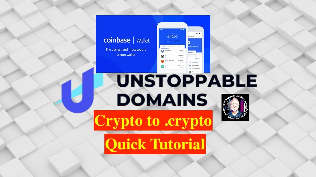 #141 Crypto to .crypto – Quick Tutorial – Coinbase Wallet – Unstoppable Domains – ???? ????