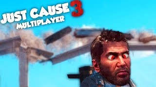 ON A CASSÉ LE PONT ! (JUST CAUSE 3 Multiplayer Fun)