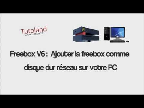 freebox v6 ajouter la freebox comme disque dur reseau sur votre pc youtube. Black Bedroom Furniture Sets. Home Design Ideas