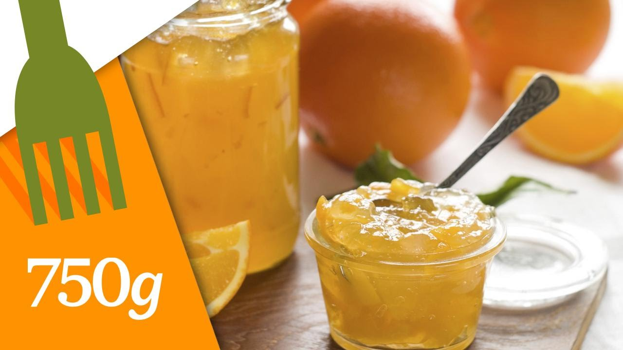 Superb Recette Confiture D Orange Maison #14: Confiture Du0027oranges Maison - 750 Grammes - YouTube