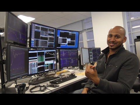 Финансовый рынок nyse на 6 мониторов