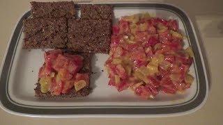 Салат из паприке с горчицей на каждый день / Paprika u senfu