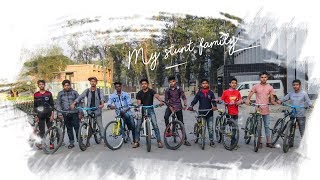 MY STUNT FAMILY || EXTREME SPORTS ||CYCLE STUNT BANGLADESH |CRAZY STUNT