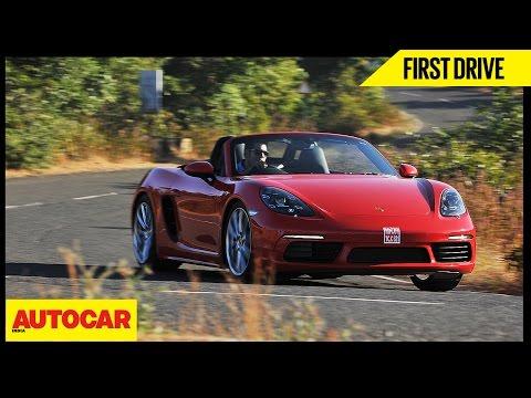 Porsche 718 Boxster   First Drive   Autocar India