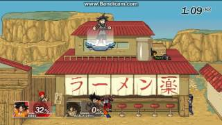 super smash flash 2 :  black goku mod