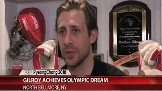 Matt Gilroy honors brother in Winter Olympics