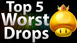 'TOP 5' Worst Drops in: Call of Duty Zombies - Black Ops 2 Zombies, Black Ops & WaW