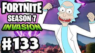 Fortnite Season 7 Chapter 2 Is Here! INVASION! Rick and Morty! - Fortnite - Gameplay Part 133