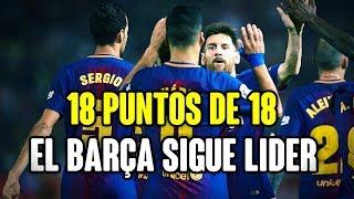 18 PUNTOS DE 18 POSIBLES: EL BARÇA ESTÁ INTRATABLE | Girona 0-3 Barça | Revista de prensa