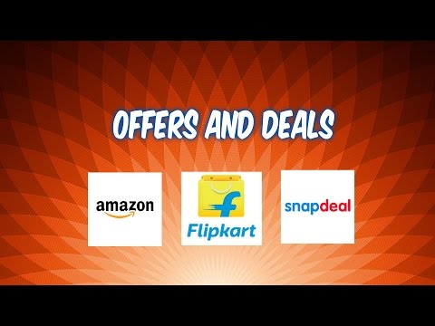 Online Shopping Offers and Deals - Amazon, Snapdeal and Flipkart