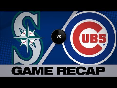 Schwarber's Bases-clearing Triple Pushes Cubs | Mariners-Cubs Game Highlights 9/2/19