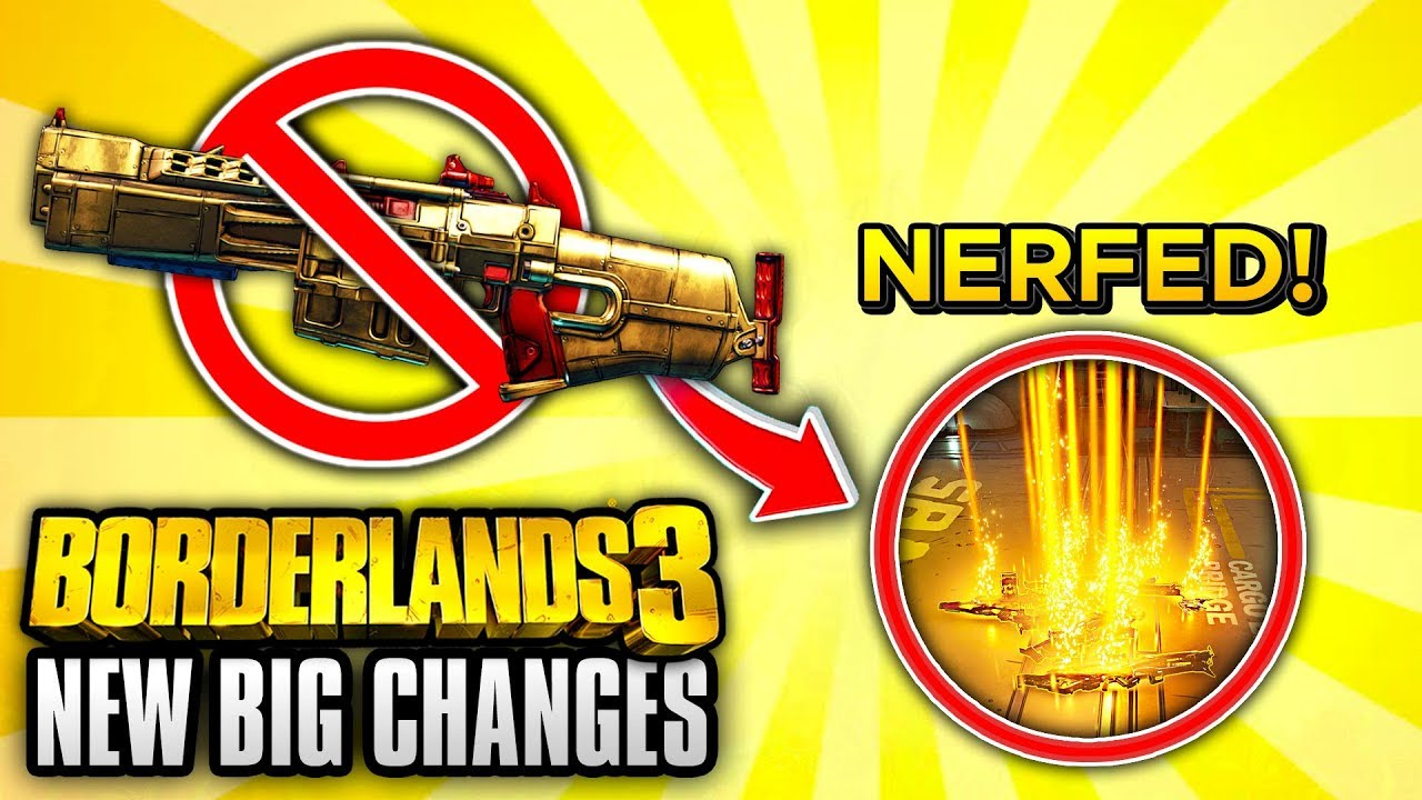 Borderlands 7 NERFED Legendary Farming With The New Hot Fix