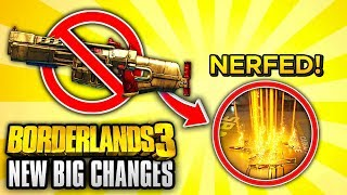 Borderlands 3 NEW UPDATES - Legendary Weapon Loot Changes, Weapon Debuffs & More!