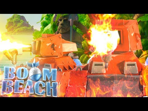 Boom Beach Scorcher vs Dr T Challenge!