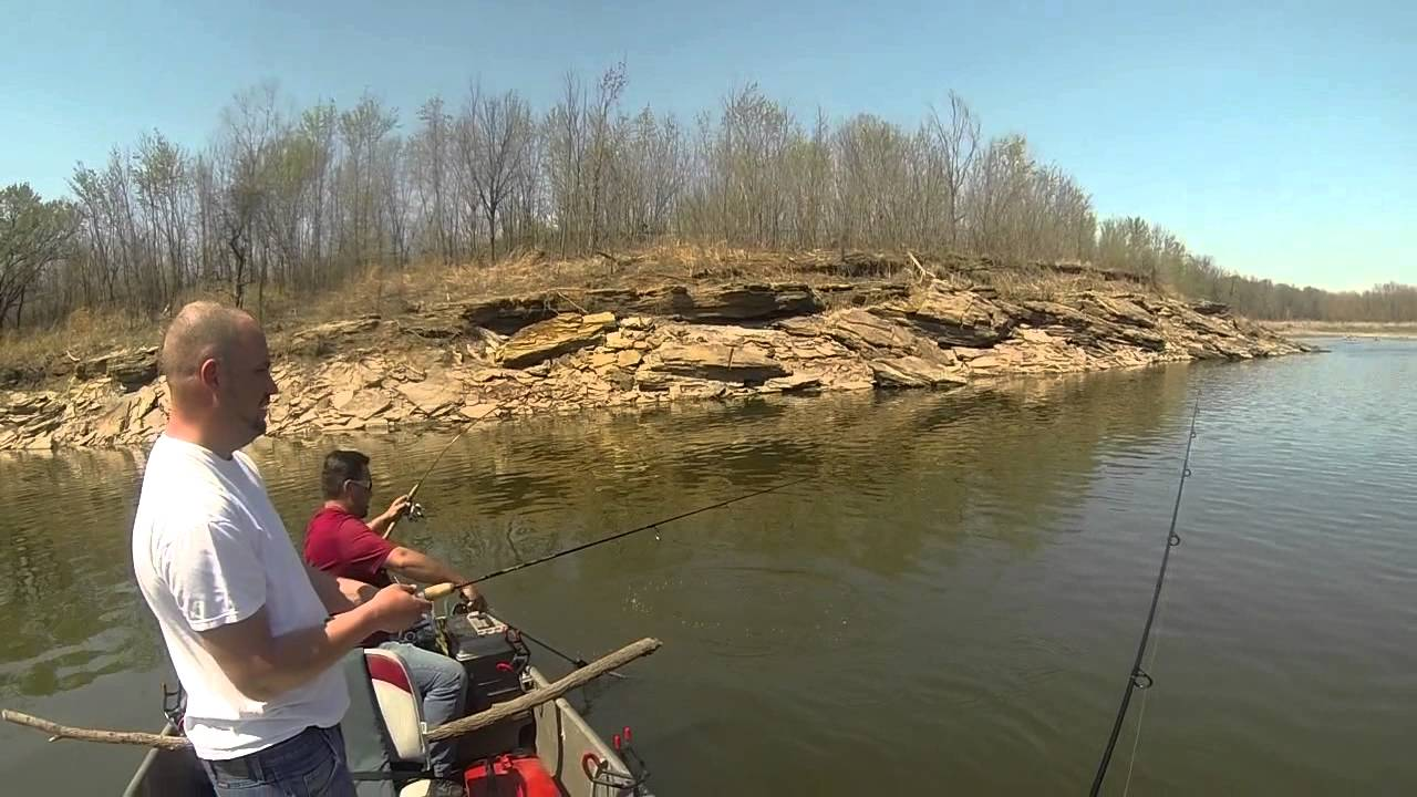 White bass fishing on the arkansas river youtube for White river arkansas fishing report