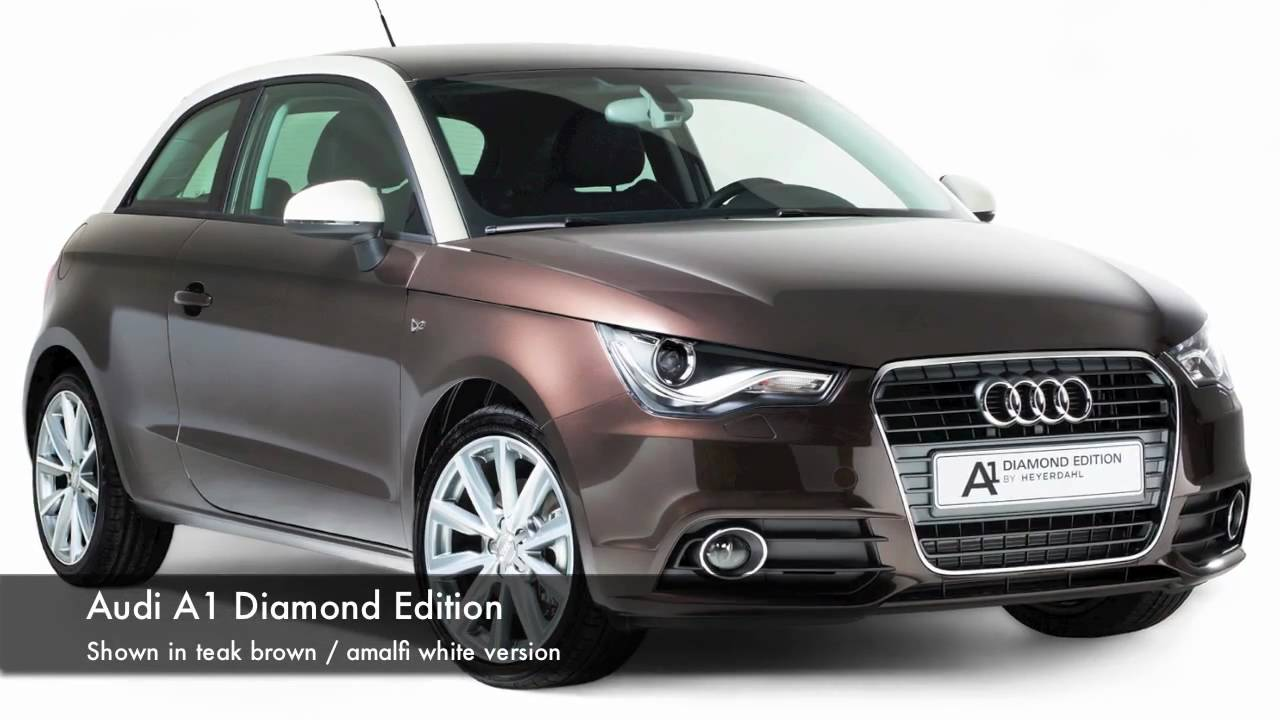 audi a1 diamond edition youtube. Black Bedroom Furniture Sets. Home Design Ideas