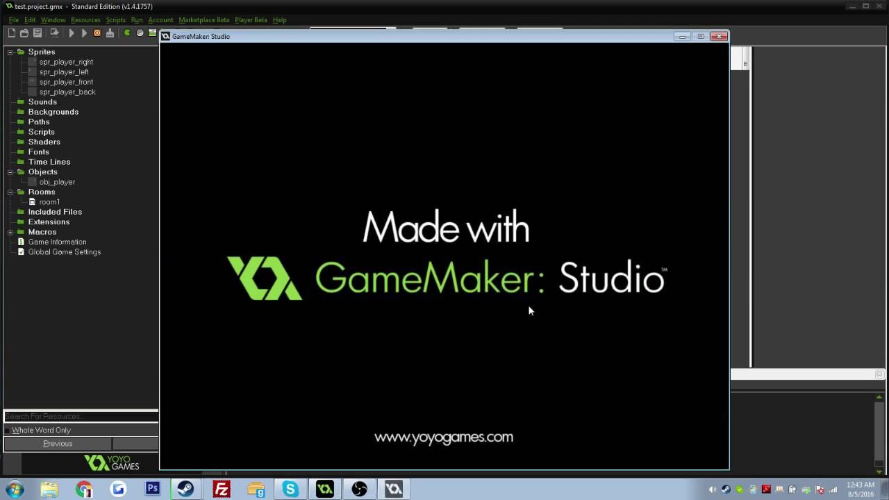 Game Maker Studio Basic Rpg Movement Tutorial Youtube