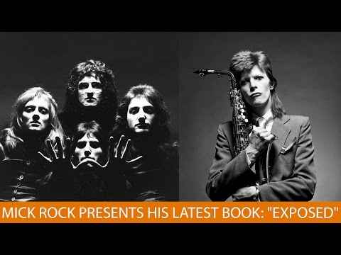 "Mick Rock Presents His Latest Book: ""Exposed"""