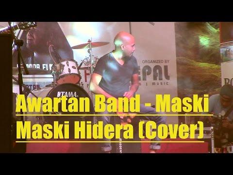 Awartan Band - Maski Maski Hidera Jaane Le Cover - Rhythm Highway Concert  2016 @ Narayangarh