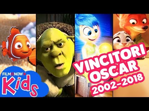Tutti i film d'animazione vincitori dell'Oscar 2002-2018